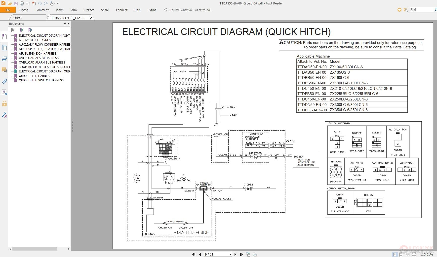 Hitachi Workshop Technical Manual And Wiring Diagram Full Dvd