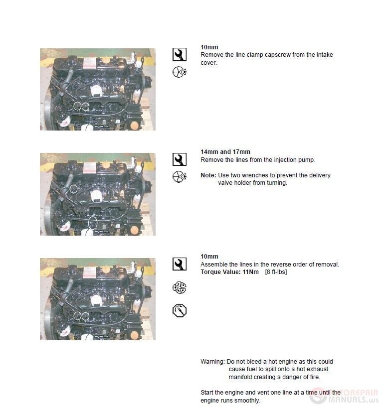 Doosan-Daewoo Skid Steer Loaders 430, 440 Plus, 450, 460 ... on