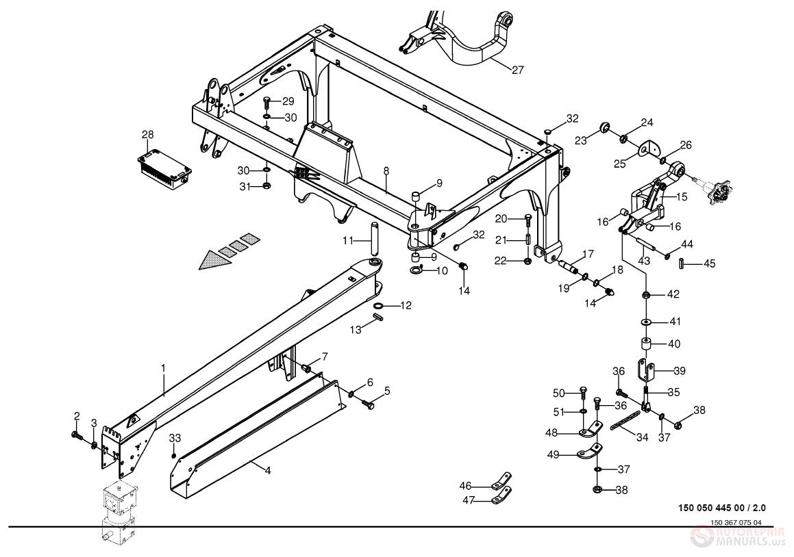 Krone Disc Mower EasyCut_2801_3201_3600_CV_2 Parts Manual | Auto