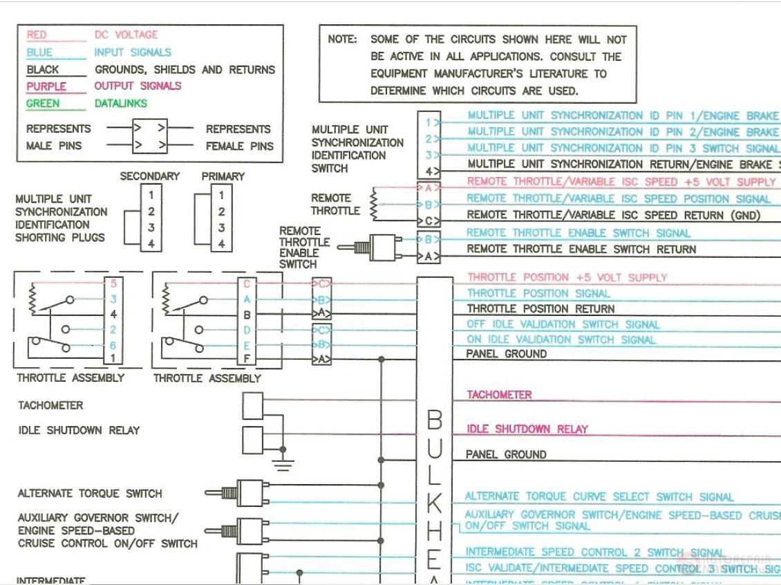 Cummins Tier 3 Qsm11  Engine Wiring Diagram