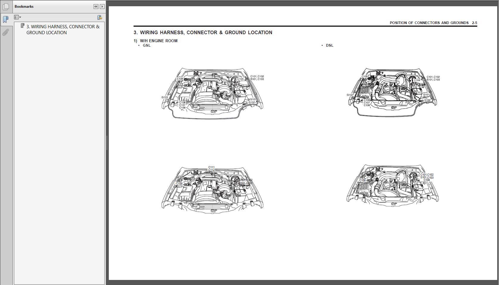 Ssangyong 2002-2012 Shop Manual Full Dvd