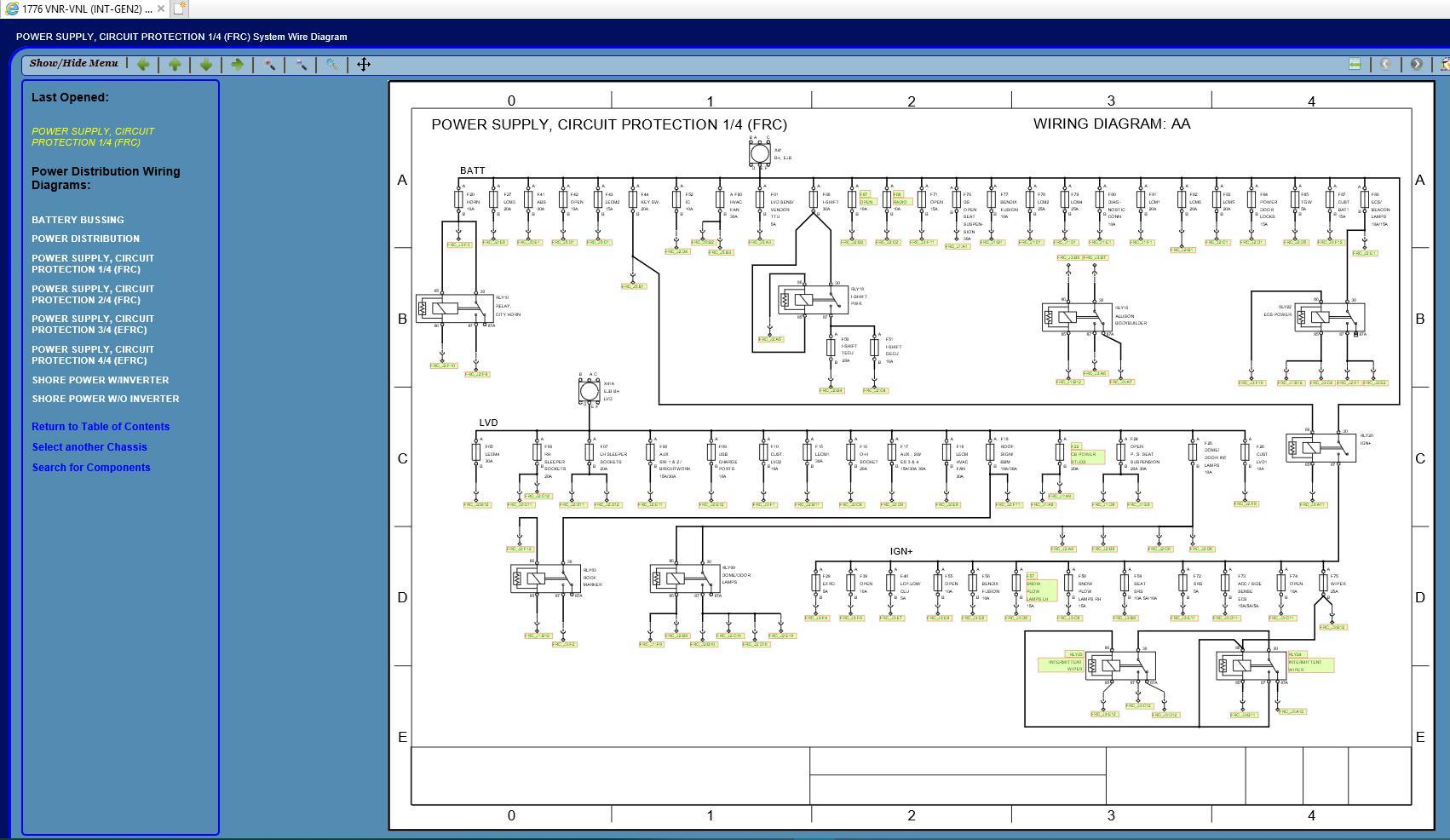 volvo truck na ewd electrical wiring documentation updated [12 2017 Volvo VNL Wiring-Diagram