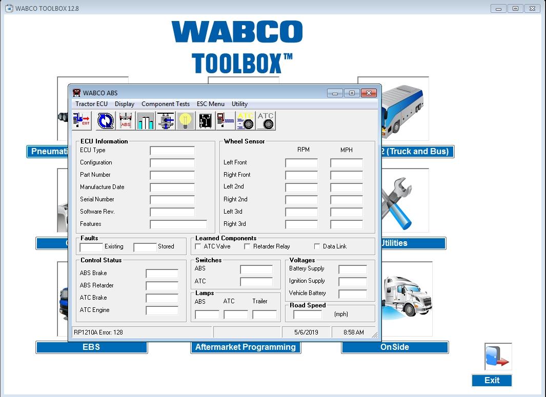 Meritor Wabco Toolbox 12 8 English  01 2019    Patch Full