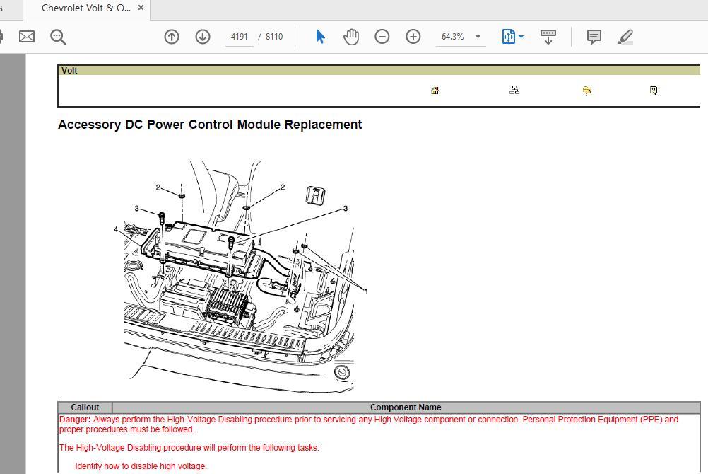 Chevrolet Volt  U0026 Opel Ampera Service Manual 2012