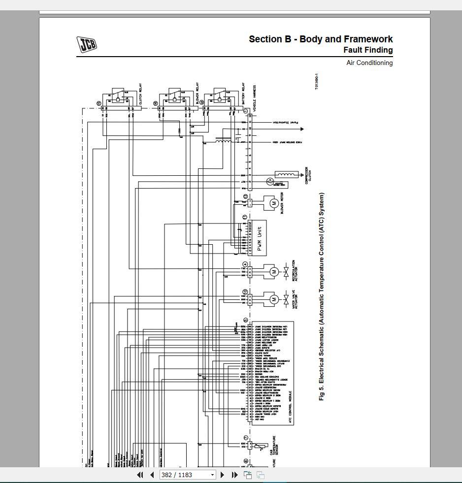 JCB New Model Service Manual 2019 Full DVD | Auto Repair ... Jcb B Loadall Wiring Diagram on