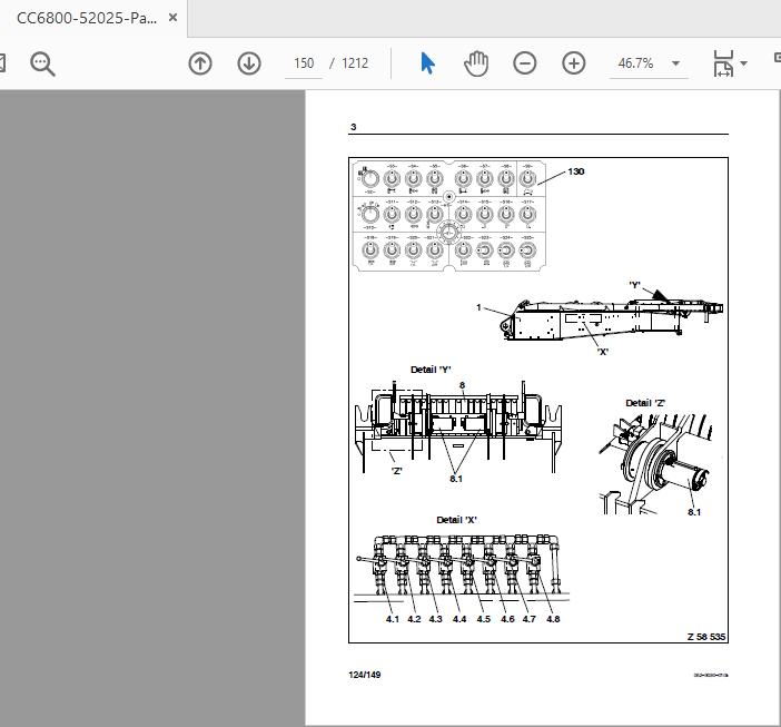 Terex Cc6800 Operation And Maintenace Manual