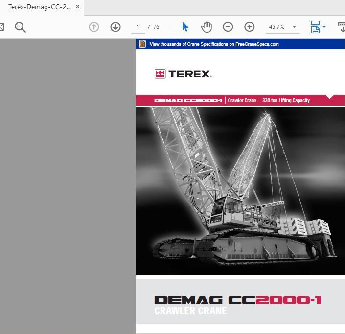 Terex Demag Cc2000