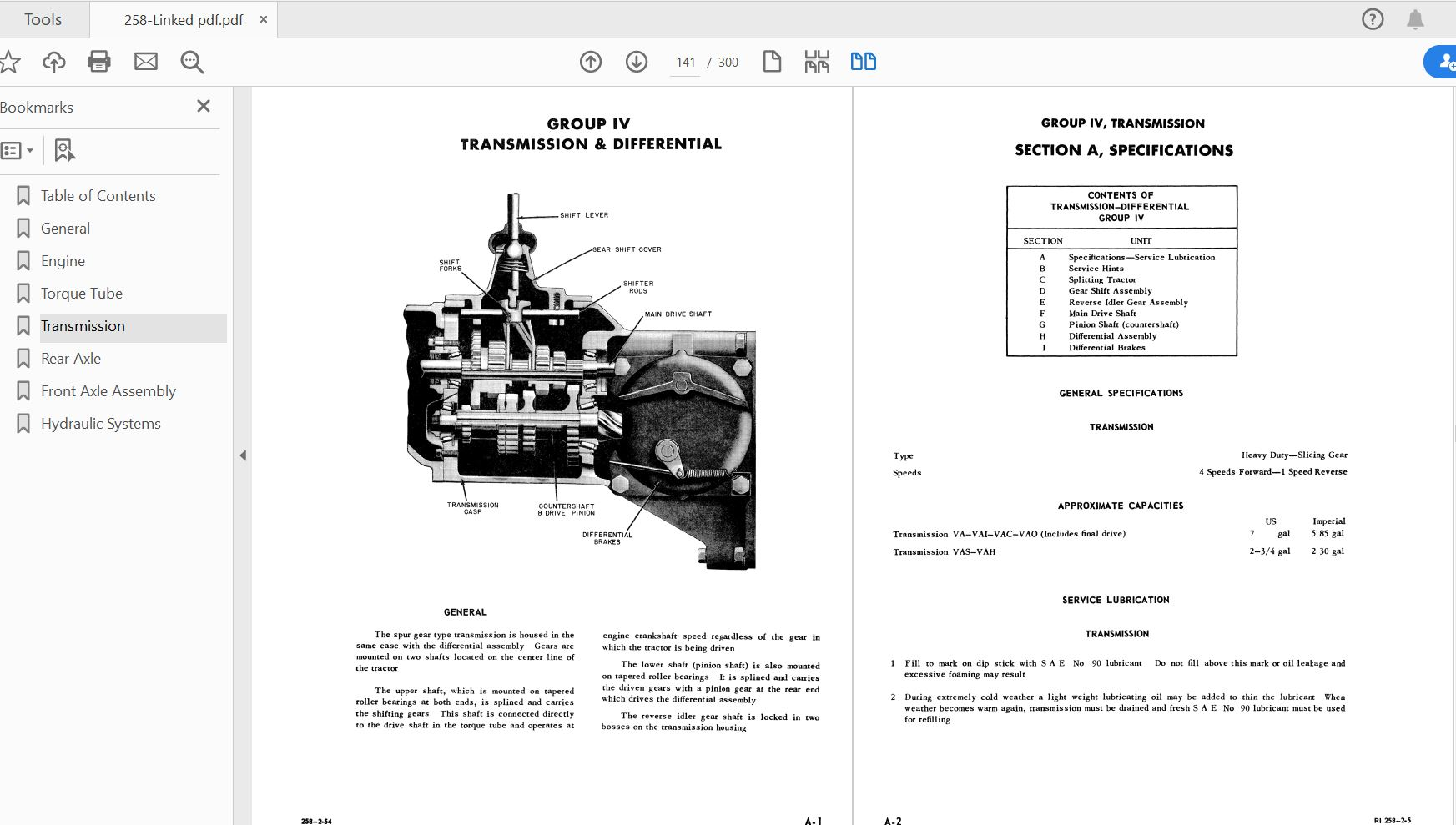 Case Ih Tractor Va Series Tractor  U0026 Engine Service Manual
