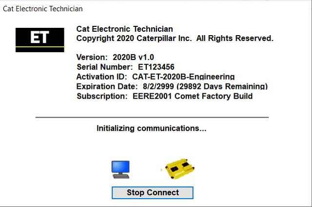 CAT ET 2020B Activation License   Auto Repair Manual Forum ...