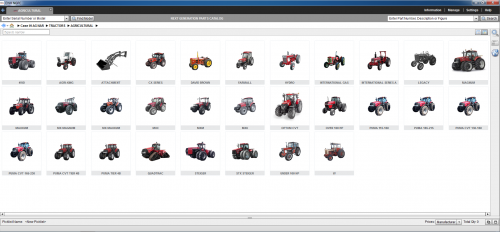CASE IH Agriculture (AG) North America EPC 2019 [11.2018] Spare Parts Catalog 9