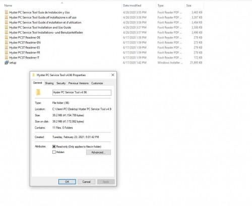 Hyster PC Service Tool v4.96 [02.2021] Unlocked (1)