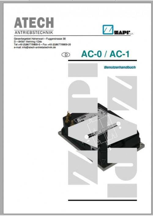 Hubtex Forklift Zapi Atech Antriebstechnik AC 0 AC 1 User Guide DE 1