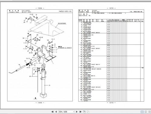 Tadano Rough Terrain Crane GR 1200XL 3 P2 2EJ Parts Catalog EN+JP 3