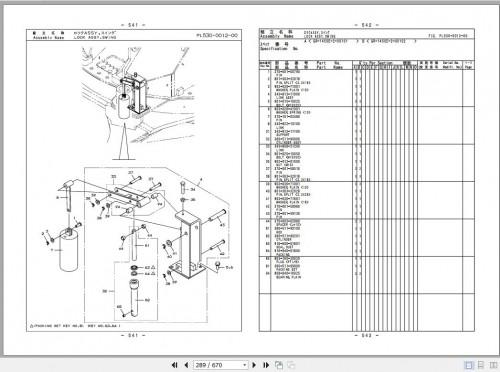 Tadano Rough Terrain Crane GR 1450EX 2 P1 1EJ Parts Catalog EN+JP 3