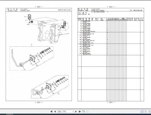 Tadano Rough Terrain Crane GR 1450EX 3 P2(R) 2EJ Parts Catalog EN+JP 3