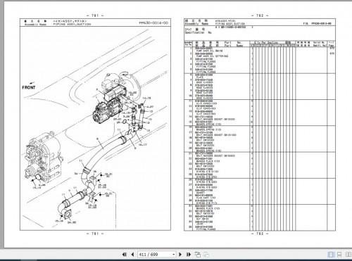 Tadano Rough Terrain Crane GR 1450EX(J) 3 P1 1EJ Parts Catalog EN+JP 3