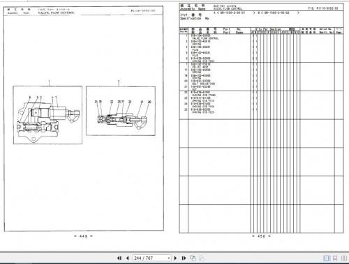 Tadano Rough Terrain Crane GR 1600XL 2 P1(U) 2EJ Parts Catalog EN+JP 3