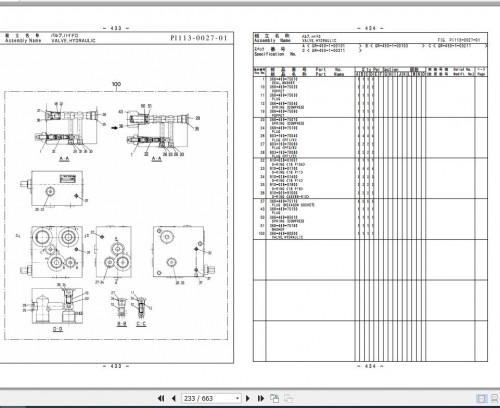 Tadano Rough Terrain Crane TR 450XL 4 P1(U) 2EJ Parts Catalog EN+JP 3